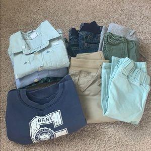 Baby boy GAP fall clothes bundle/lot